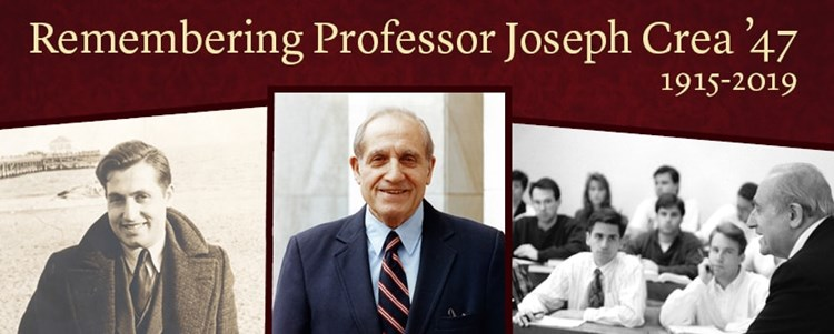 Remembering Joseph Crea '47